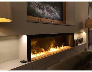 """3-D Feuer """"Modul L mit Kiesel"""" Effektfeuer"""